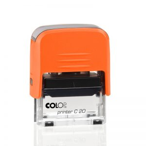 Pieczątka Printer C20 orange electrics